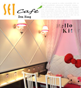 set websit voor cafe